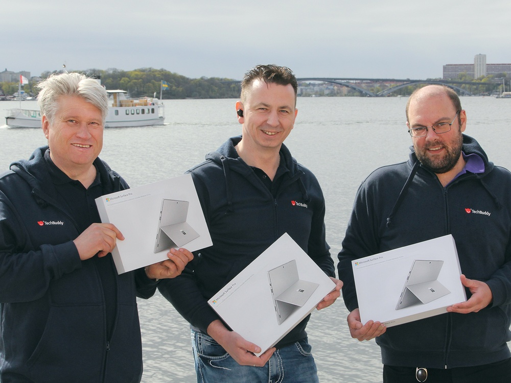 Buddies med Microsoft Surface-enheter