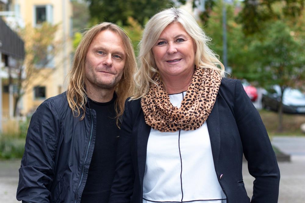 Fredrik Svensson, Vd Meet In Grid & Ann Charlotte Gavelin Rydman, ordförande Lärarförbundet Skolledare