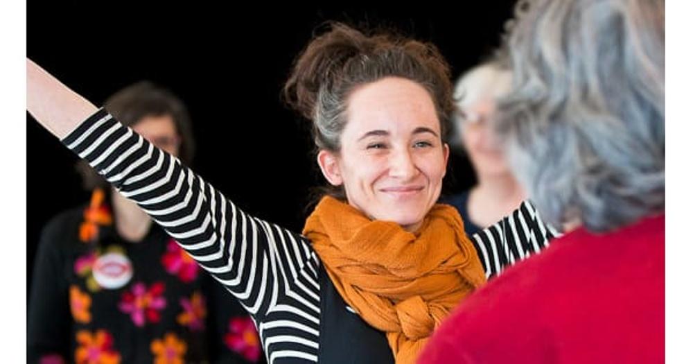 Profilbild för konferensen Lära med berättande, arranegrad av Nordiskt Berättarcentrum 14-15 februari 2019.