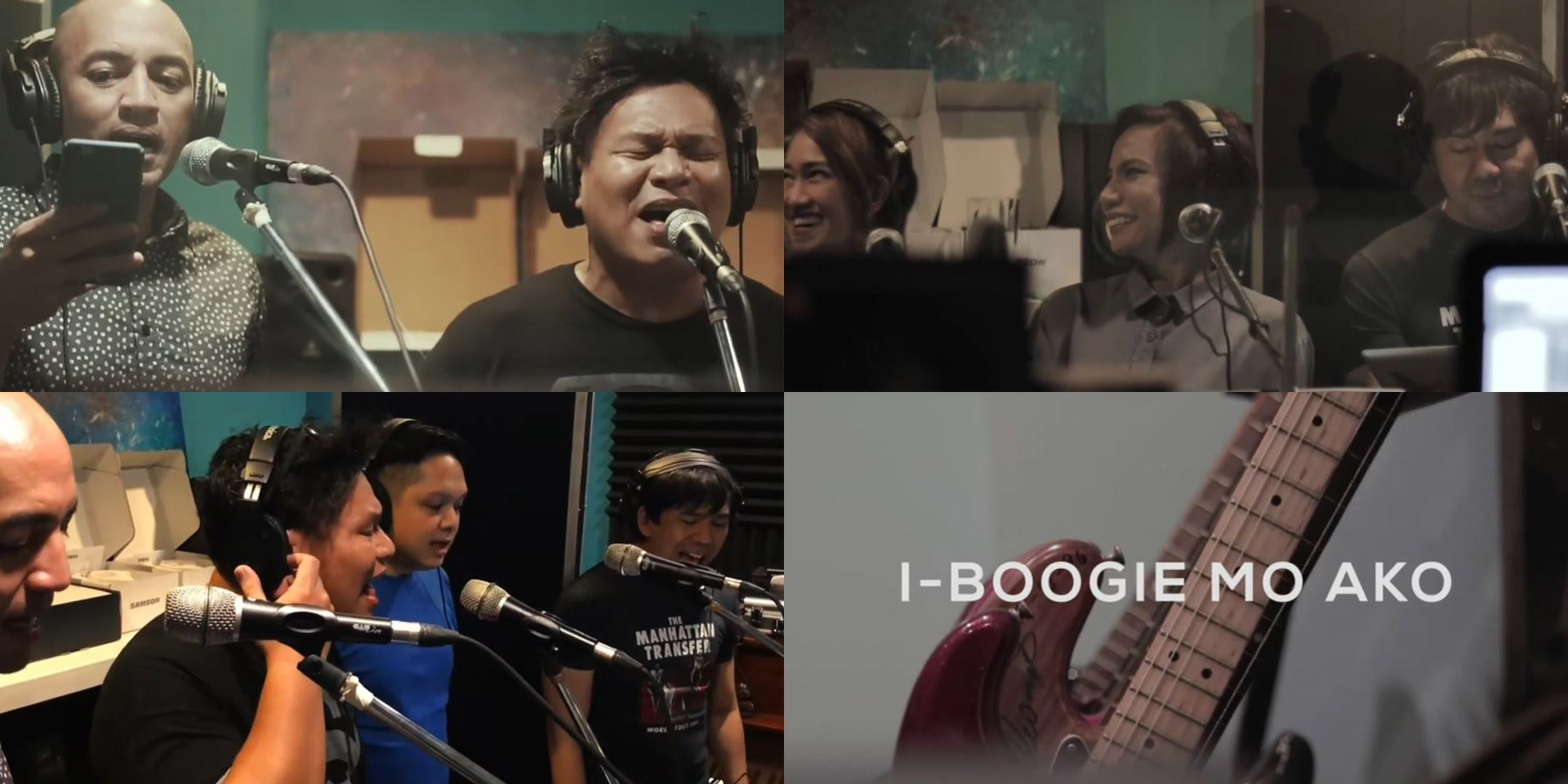"""""""It's a thrill to be collaborating with our musical heroes"""": The Itchyworms on their collab with The CompanY, 'I-Boogie Mo Ako Baby' – watch"""