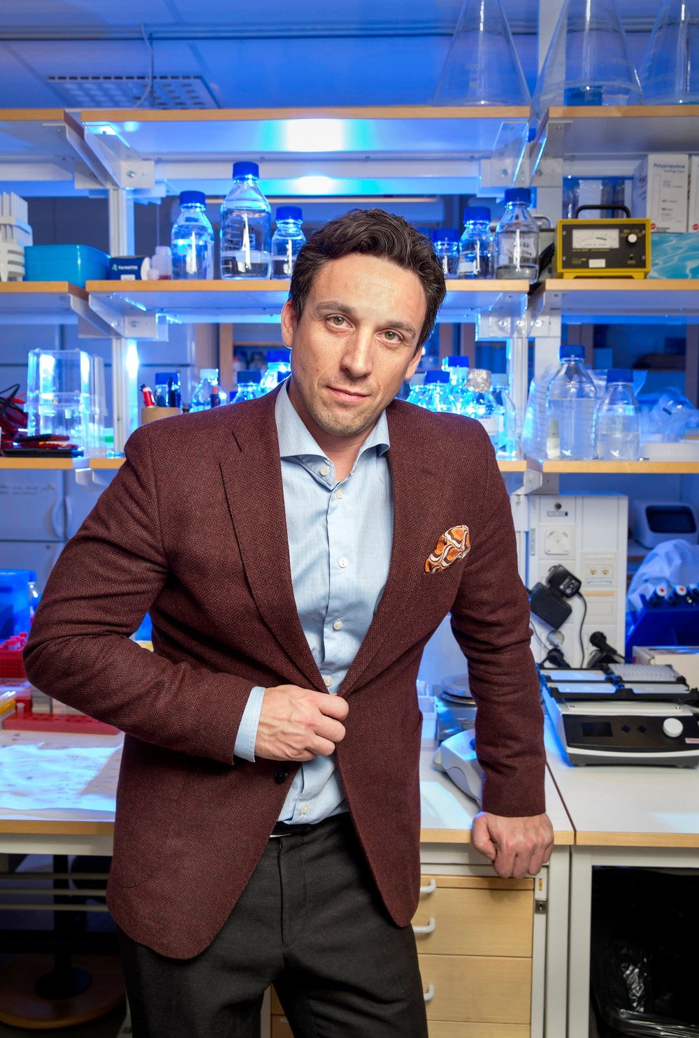 Stefan Nilsson, VD Lipigon Pharmaceuticals