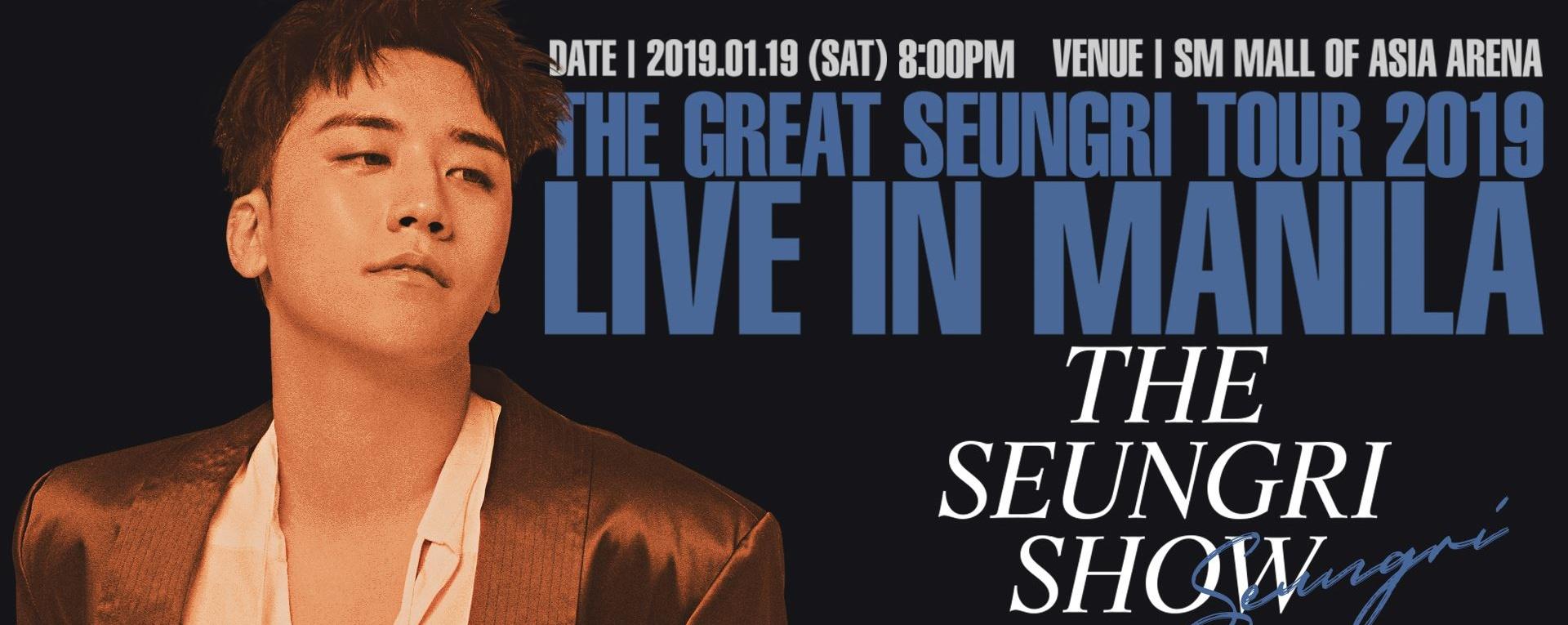 The Great Seungri Live in Manila