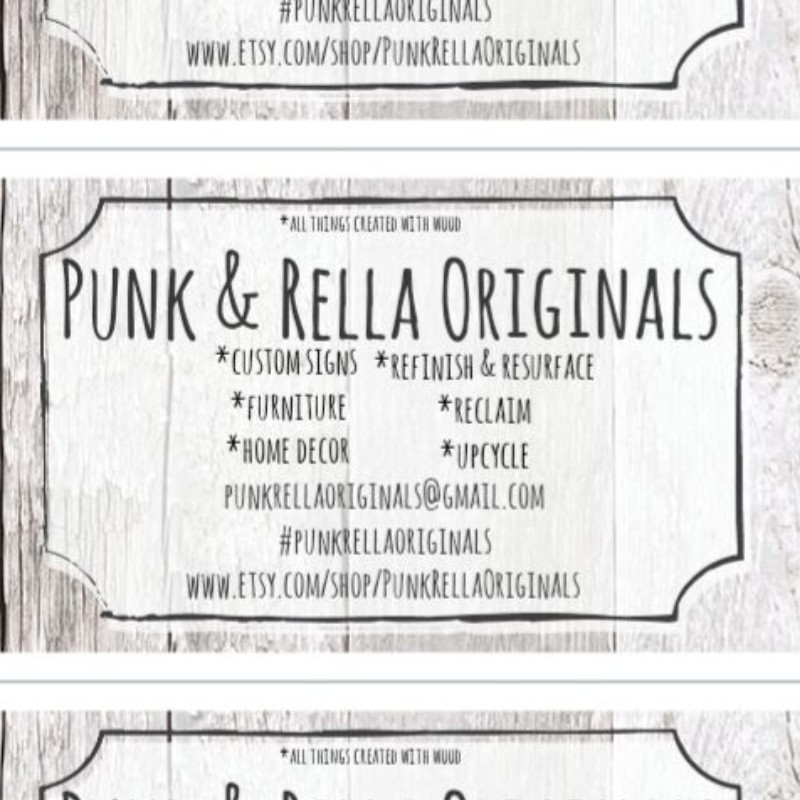 Punk & Rella Originals