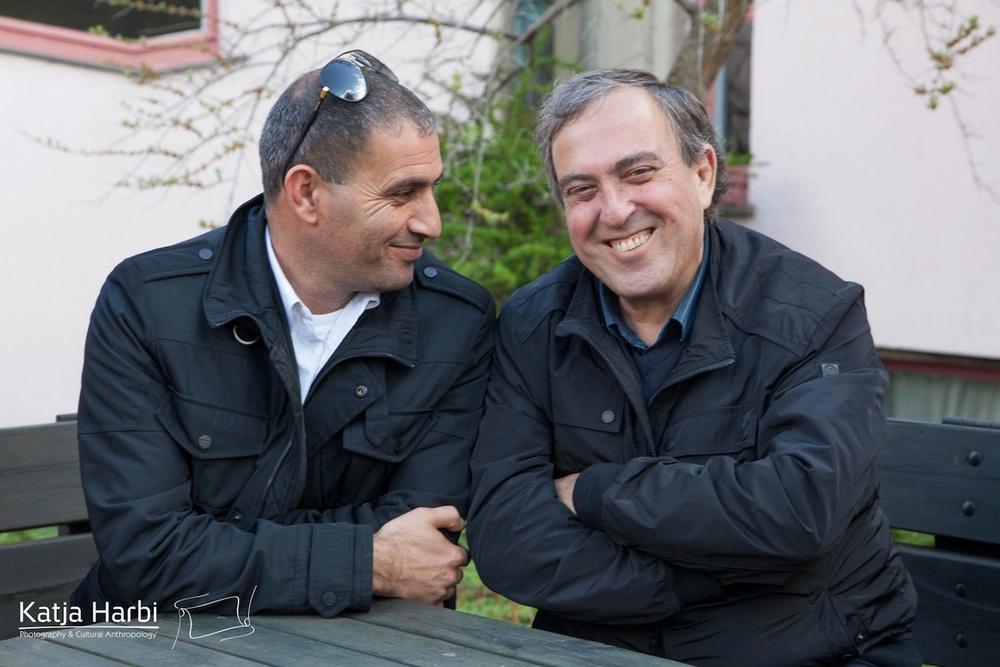 Bassam Aramin, 51, Rami Elhanan, 70 år.