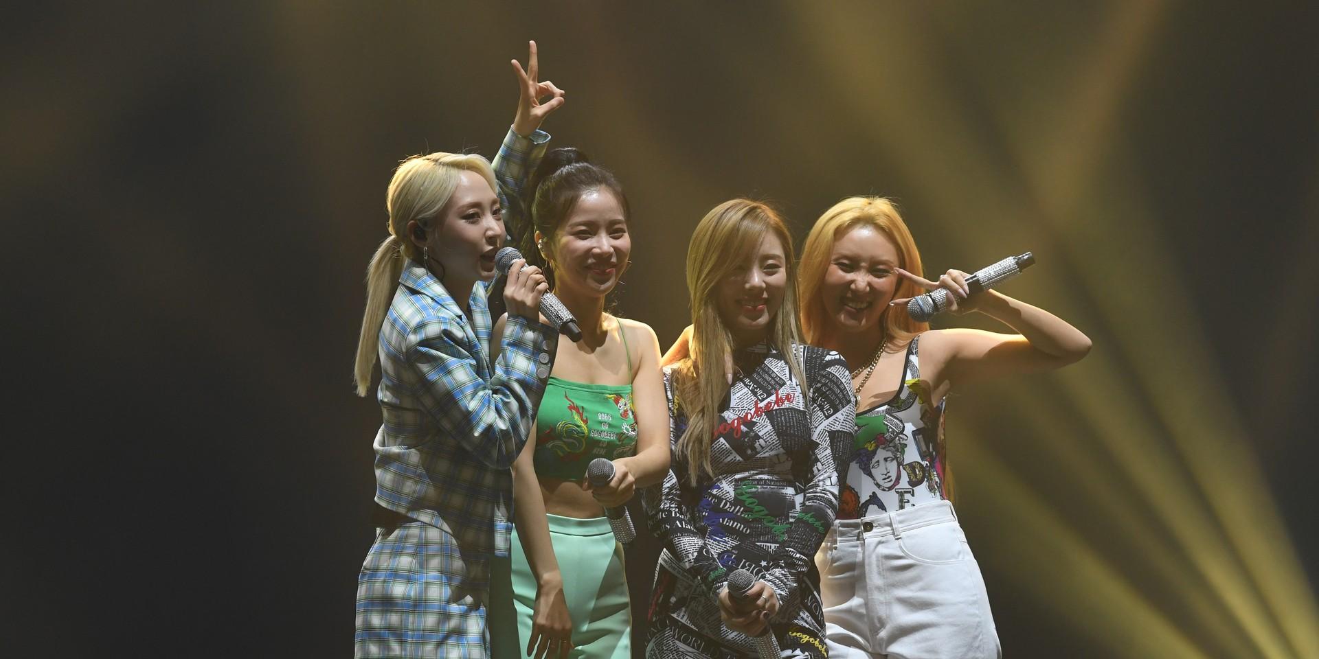 MAMAMOO新加坡粉丝见面会后记:不只会唱会跳还很会玩的女团