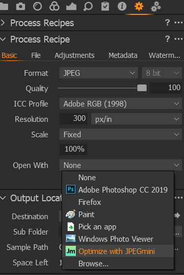 Capture One Plug-in for Windows