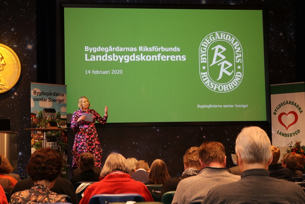Moderator Josephine Bladh. Foto: Jenny Dahlerus