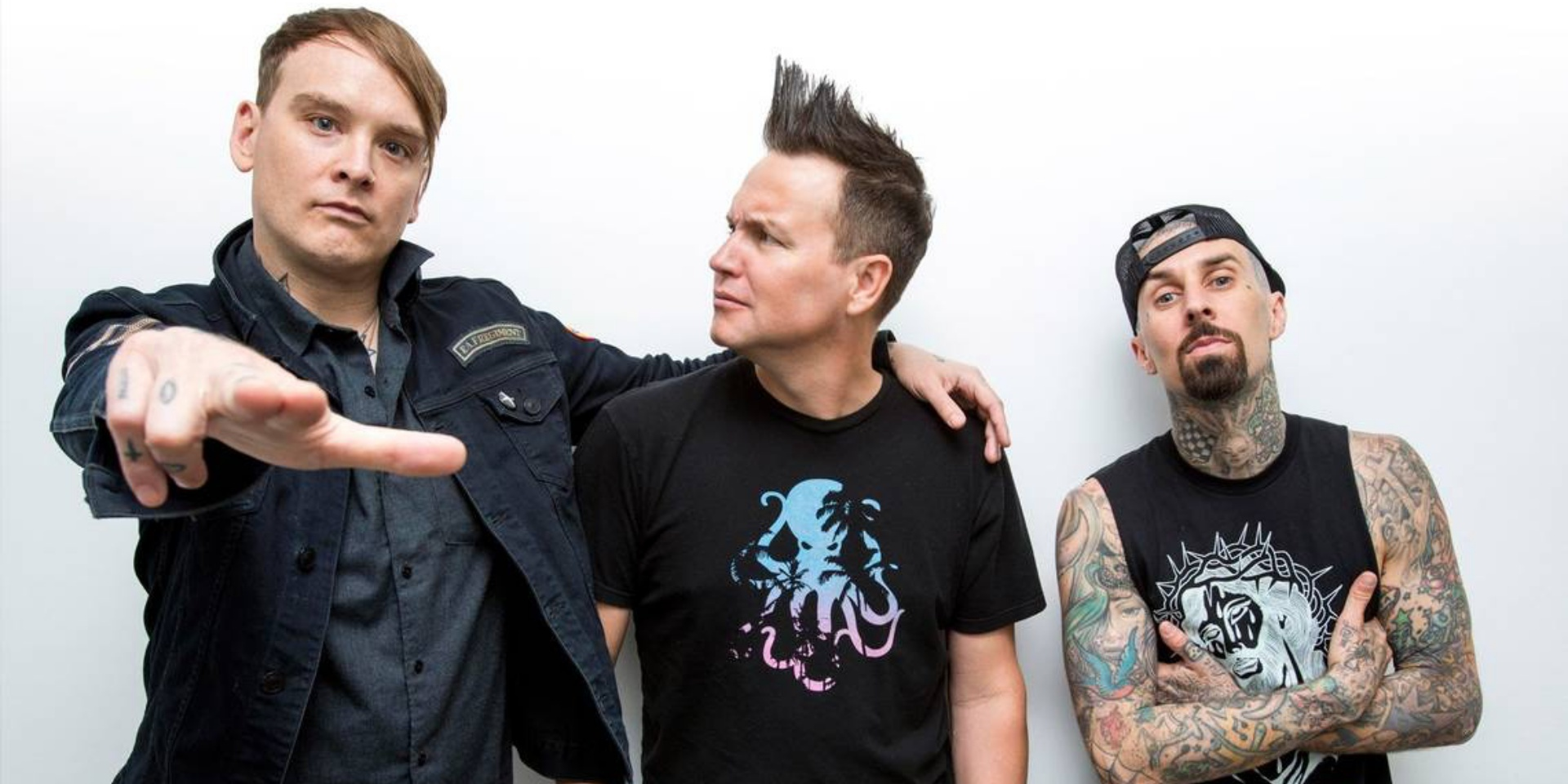 Blink-182 releases nostalgic new single 'Blame It On My Youth' – listen
