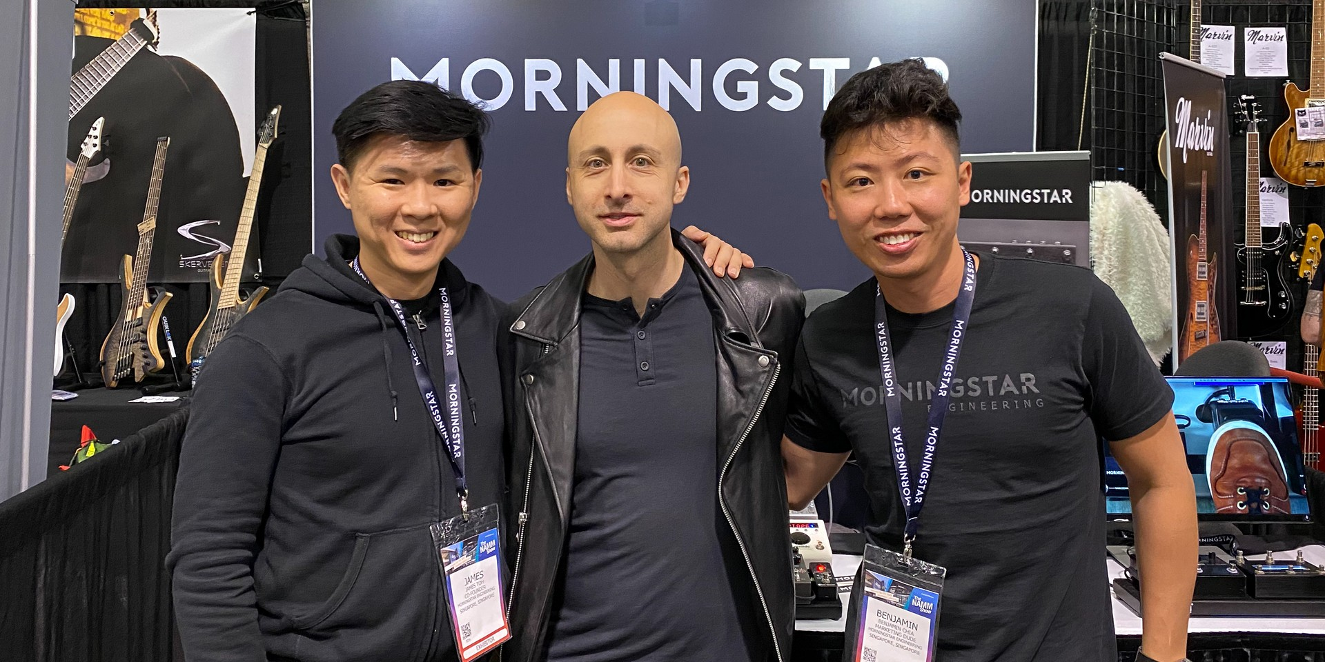 Sharing the stage with Ellie Goulding and Simple Plan - Singaporean MIDI controller makers Morningstar Engineering share their journey