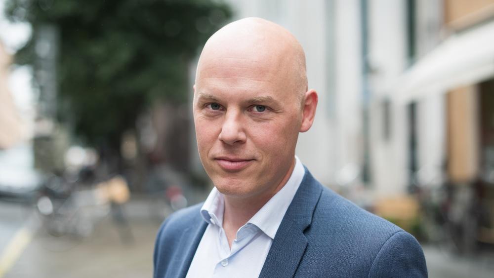 Andreas Lindblom, vd och grundare för Sciety