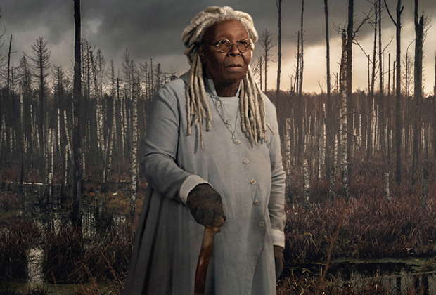 Mother Abagail, portrayed by Whoopie Goldberg
