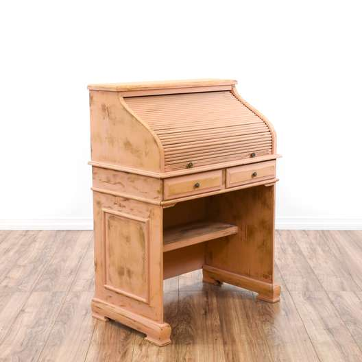 Shabby Chic Small Roll Top Desk