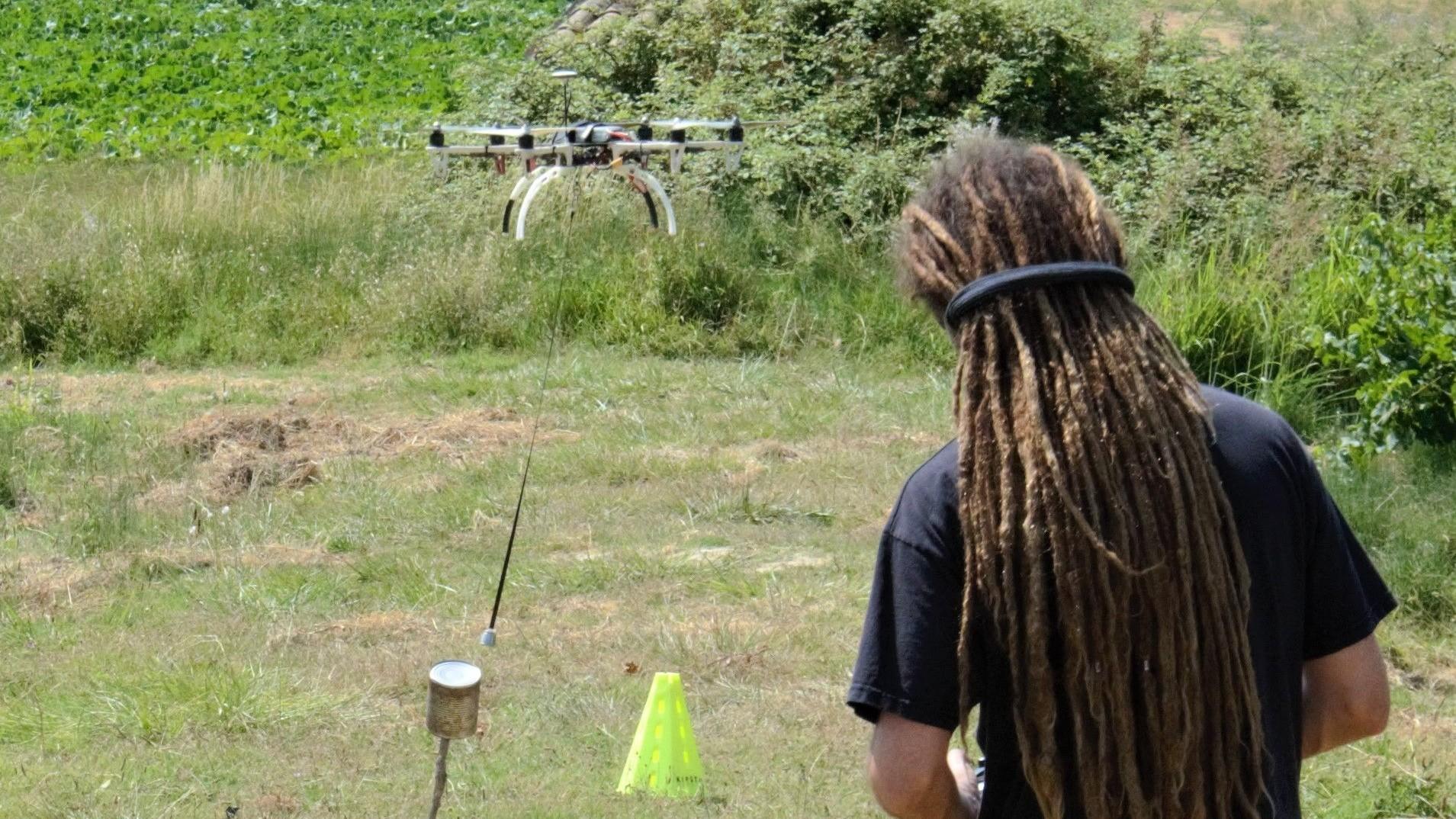 Représentation de la formation : Télépilote de drone