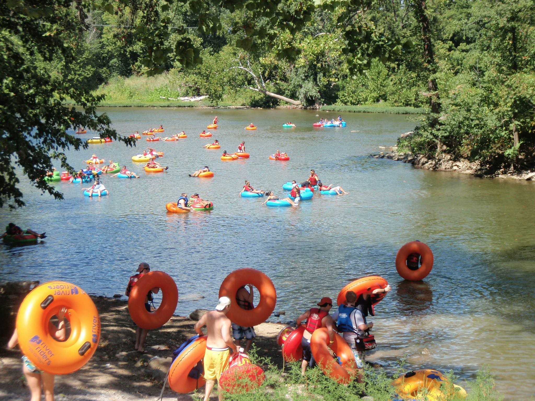 tubing season pass - harpers ferry