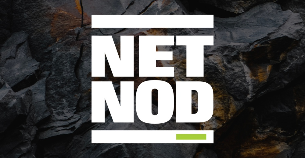 Netnod Logo on dark background