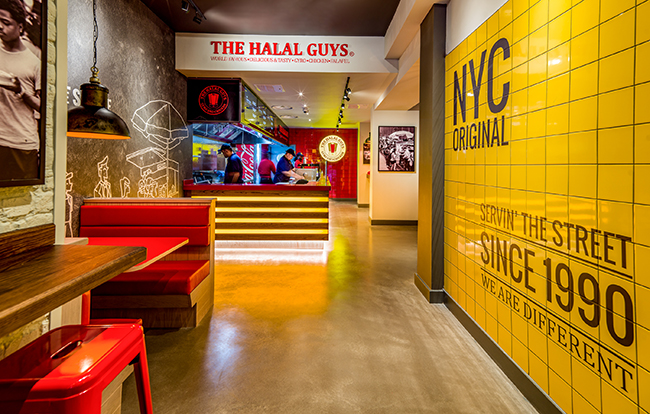 Halal Guys Leicester Square London