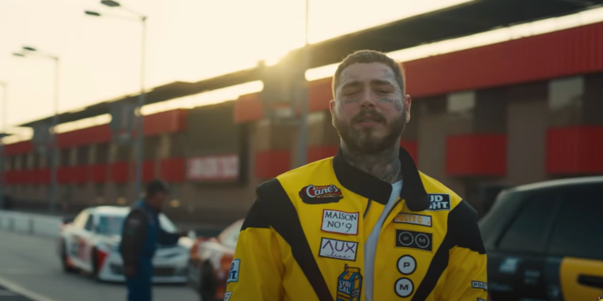 Post Malone teams up with NASCAR for new music video of 'Motley Crew' – watch