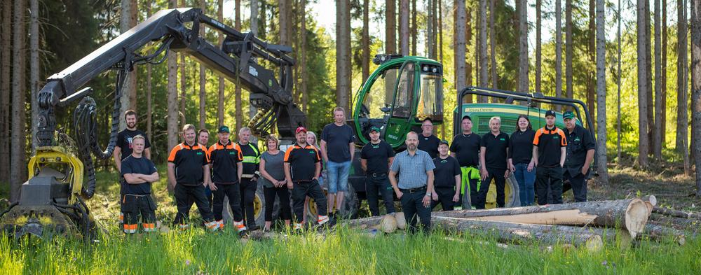 Nykvist Skogs är ett av de 30 företag som fått hjälp att utveckla sina tjänster. Foto: Nykvist Skogs