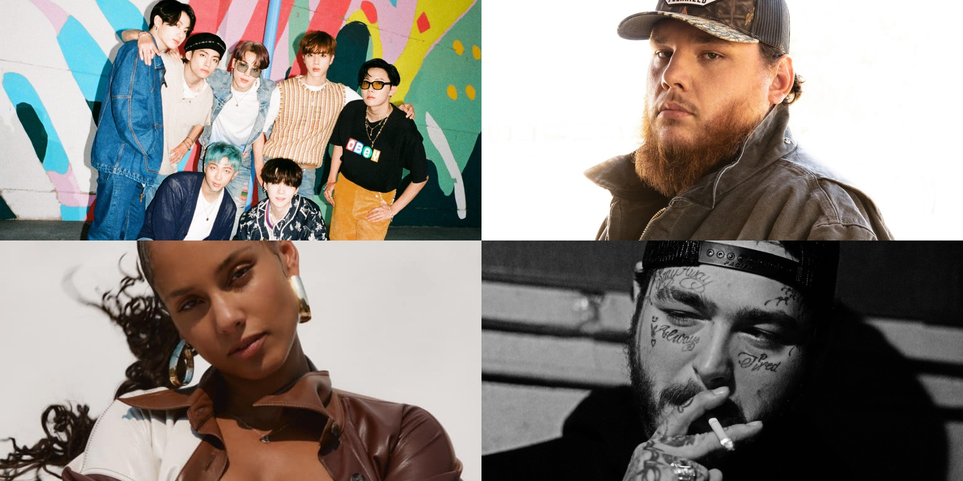 BTS, Alicia Keys, Post Malone, Luke Combs, and more to perform at the 2020 Billboard Music Awards