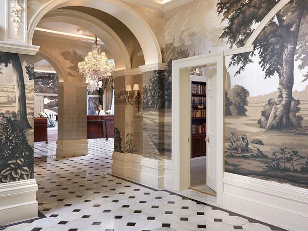The Goring hallway