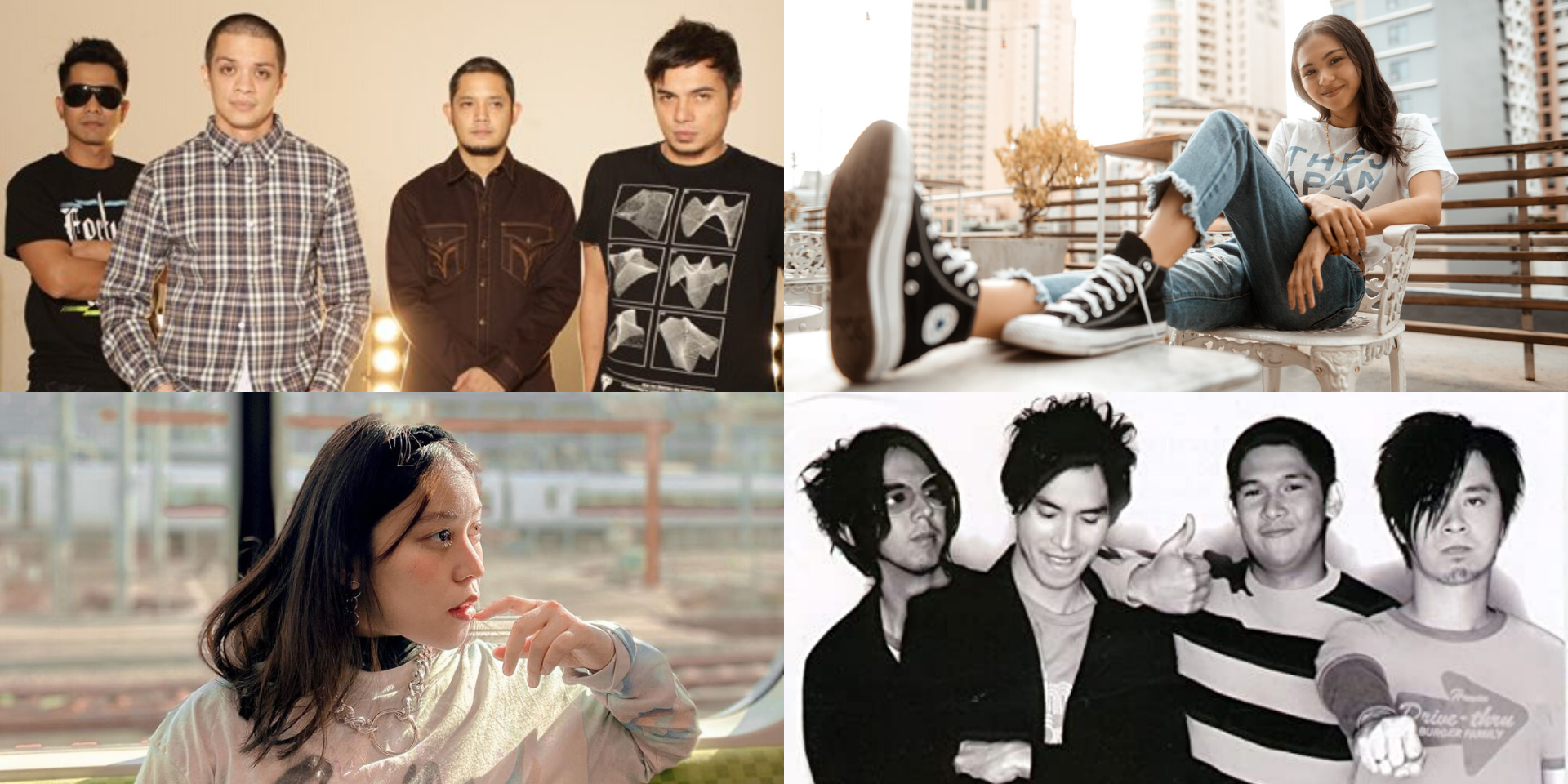 Feeling down? Here's a list of songs from Filipino artists (and causes you can support) to lift your spirits this quarantine season