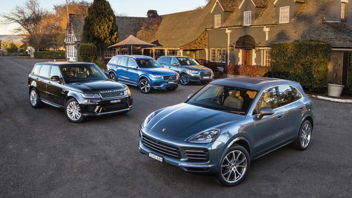 Luxury Suv Comparison Audi Q7 V Volvo Xc90 V Porsche Cayenne V