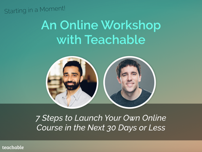 A Teachable workshop with Bryan Harris
