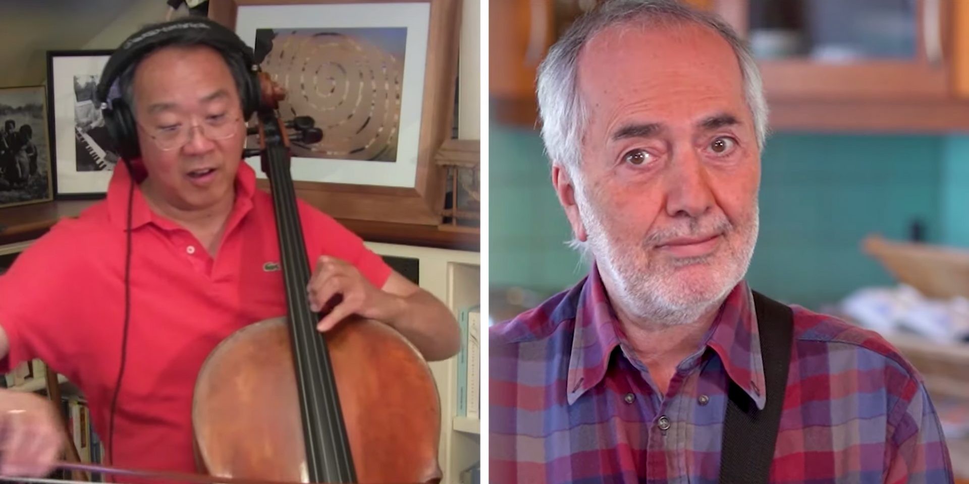 Yo-Yo Ma collaborates with Raffi for the 40th-anniversary edition of 'Baby Beluga' – watch
