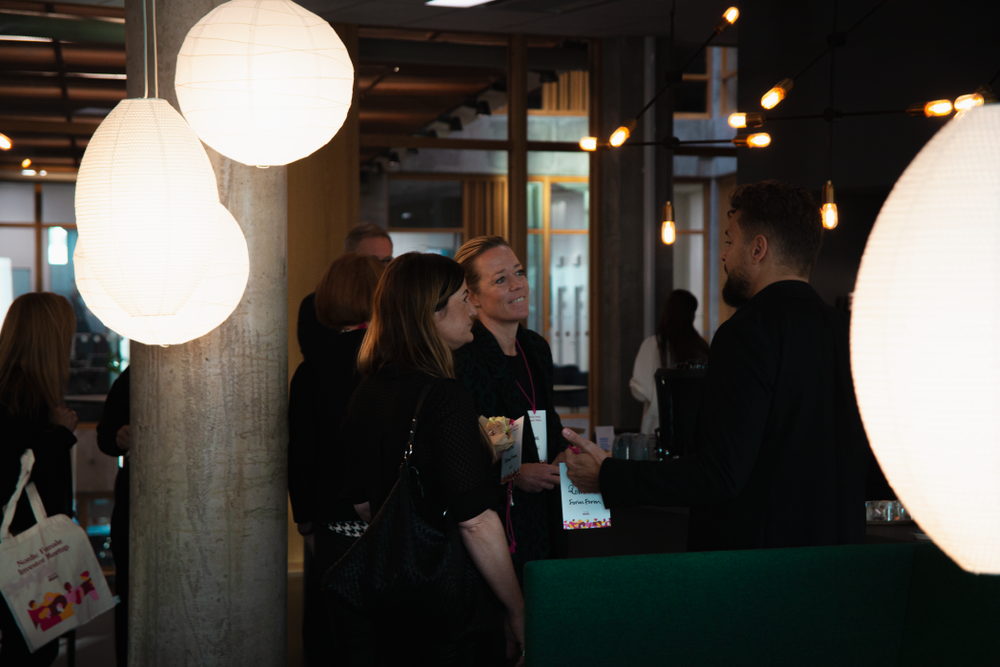 Picture from yearly event Nordic Female Investor Meetup.