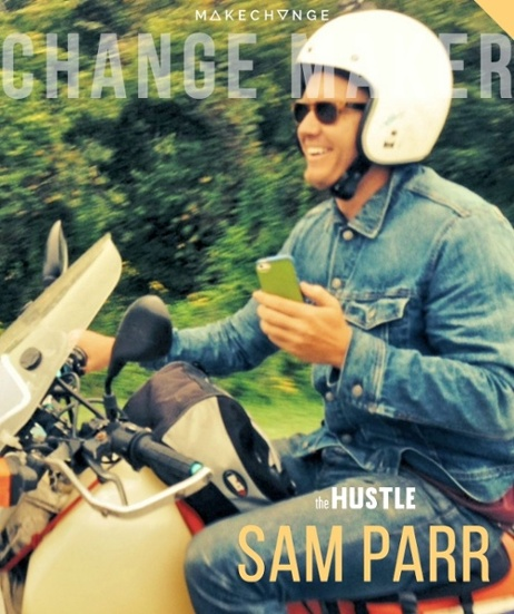 Sam Parr is a founder of The Hustle, one of the fastest growing media companies in America. In this week's Make Change, he shares with us his not-so-linear path to entrepreneurship and how he built the Hustle. Click to read his story.
