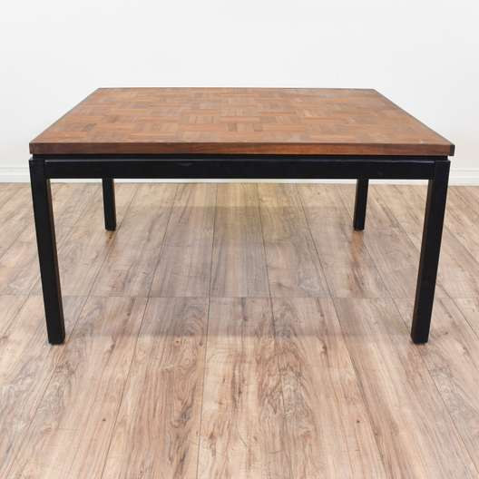Ethan Allen Marble Coffee Table