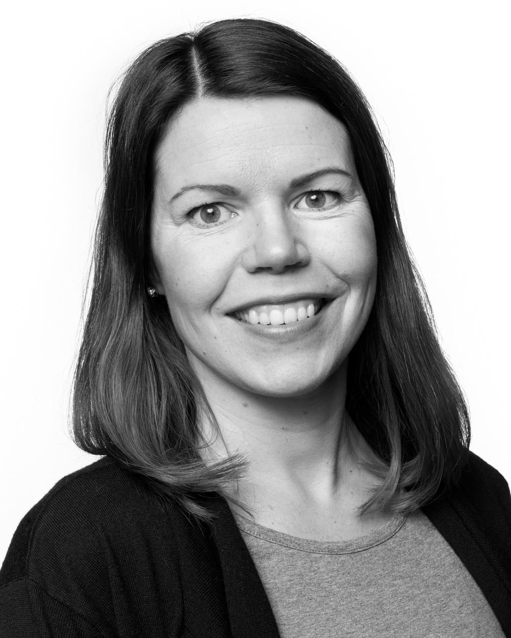 Kristina Bygdén, grafisk formgivare/kommunikatör, Västerbottensteatern. Foto: Patrick Degerman.