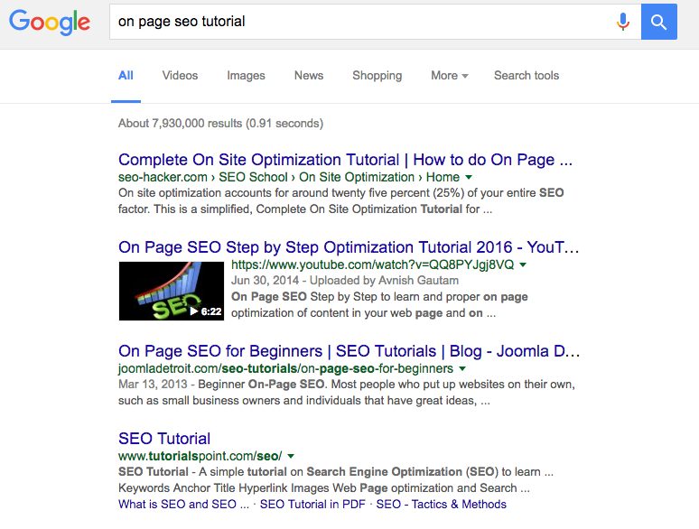 The 2016 Actionable 6-Step On-Page SEO Tutorial - Checklist Inside