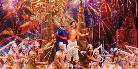 The Aladdin musical is coming to Singapore in 2019