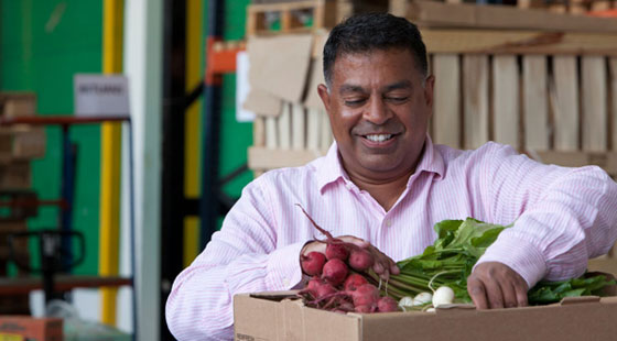 Vernon Mascarenhas of First Choice Produce