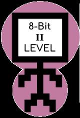 8-bit Level II Coding Badge