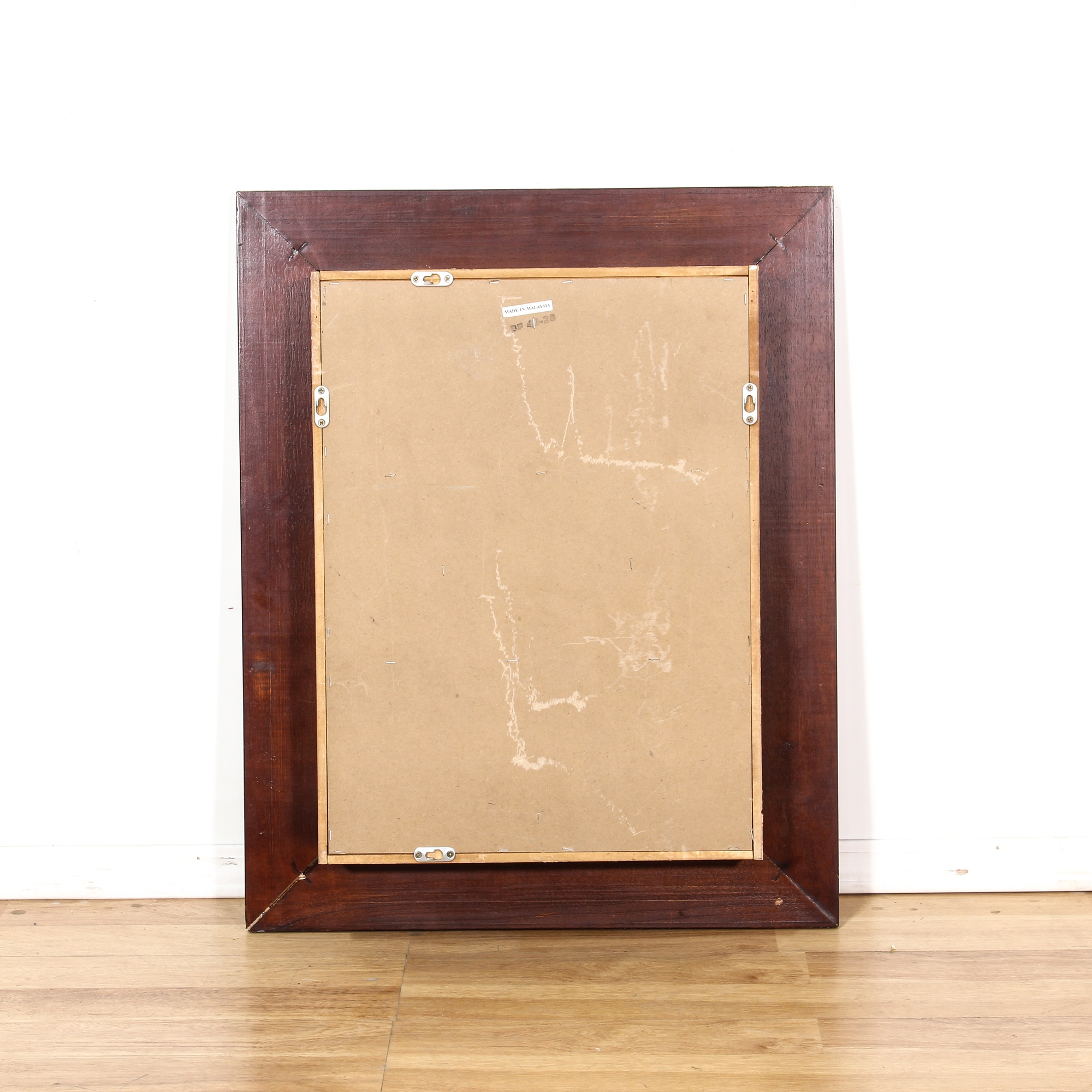Hanging Shadow Box Rack Frame W/ 7 Boxes