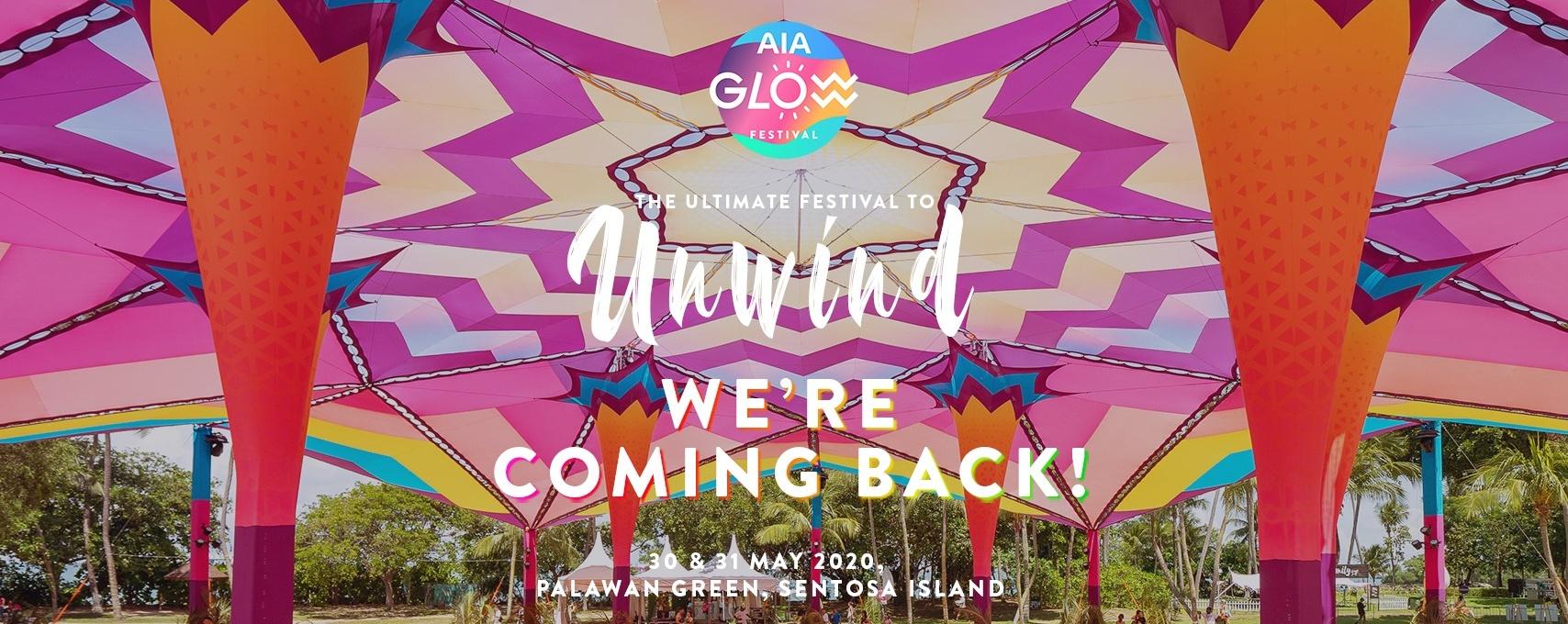 [POSTPONED] AIA Glow Festival