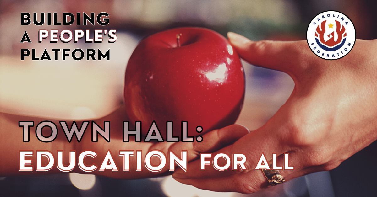 Forsyth Freedom Federation People's Platform Town Hall: Education for All Link Thumbnail   Linktree