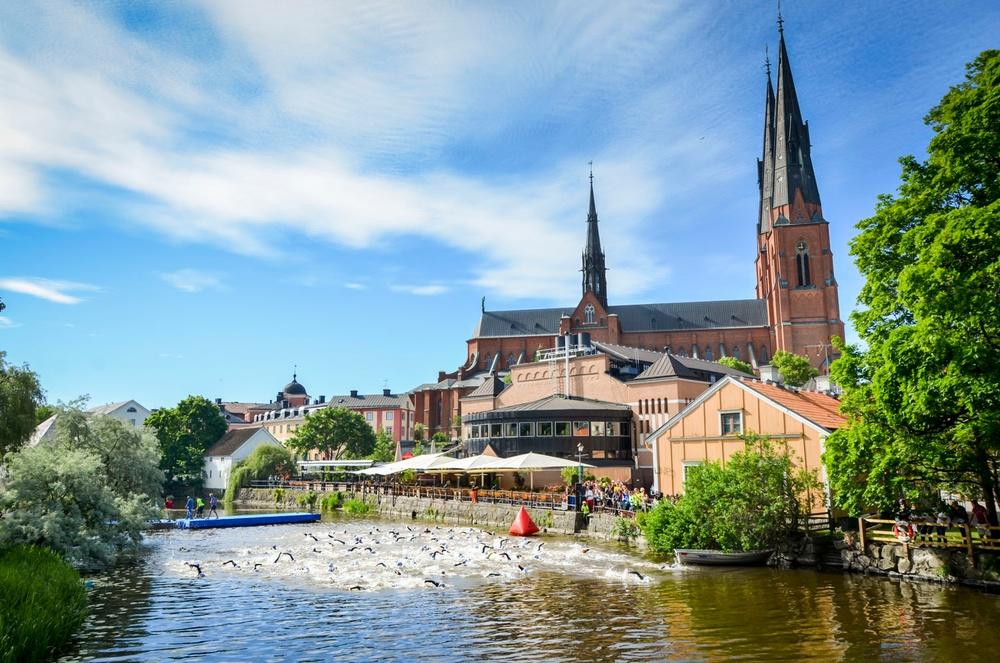 Uppsala Triathlon är ett av de elva evenemang som precis  beviljats stöd av Värlsklass Uppsala. Foto: Jonas Ekebacke.