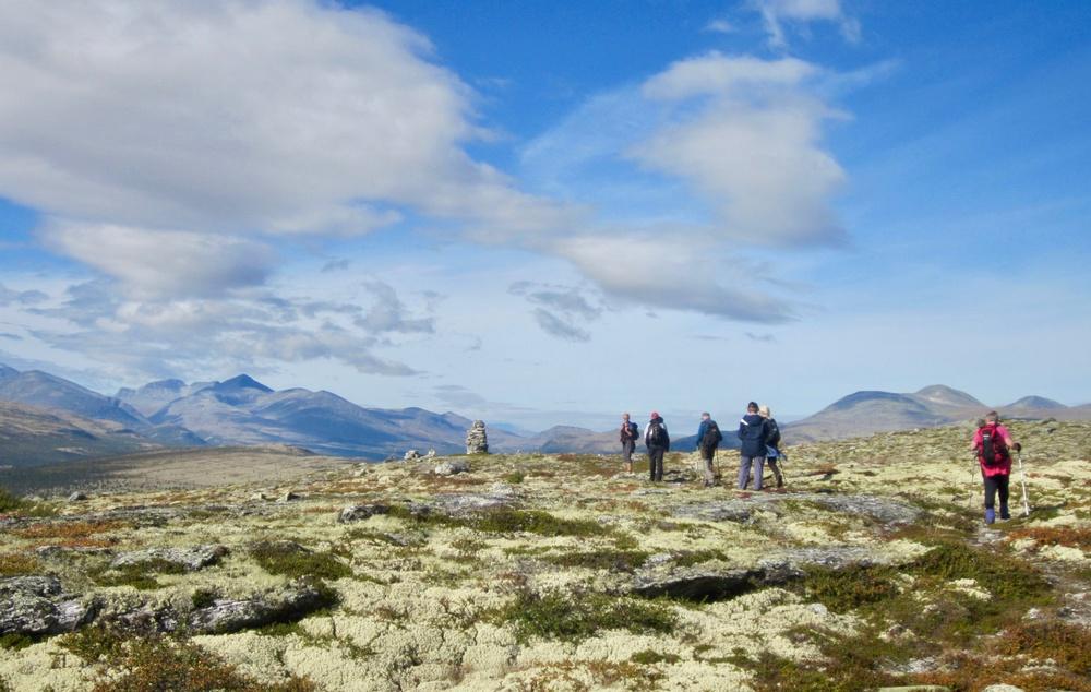Finn roen på Mountain Mindfulness and Walking på Venabygdsfjellet ved Rondane. Foto: Venabu Fjellhotell