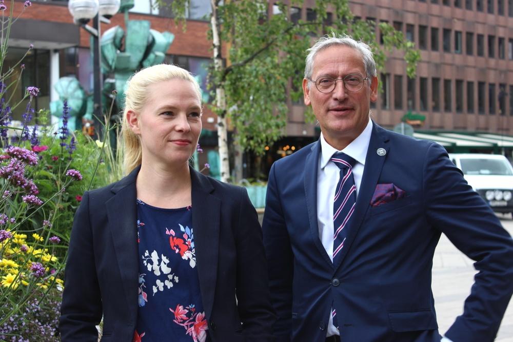 Frida Sandberg och Jan Erik Jonasson, Advokatbolaget