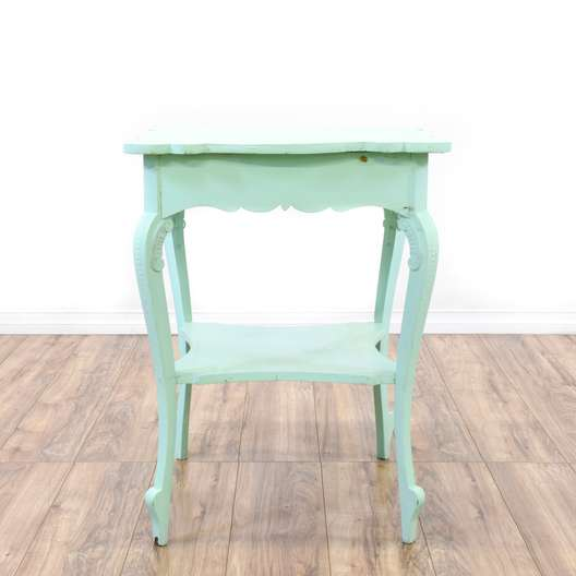 Shabby 2 Tier Side Table