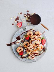 Callebaut doughnuts