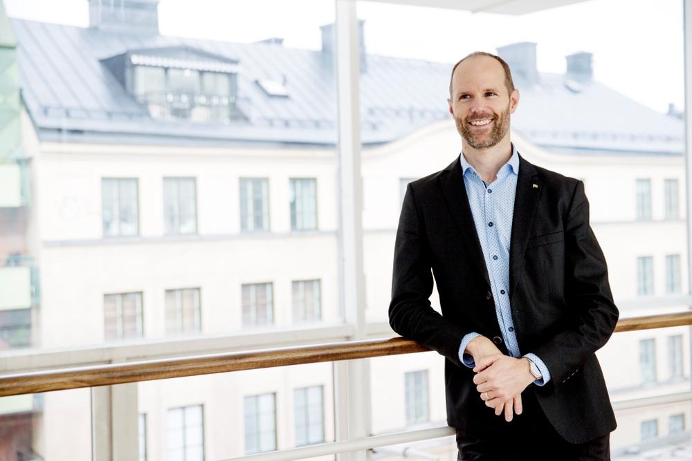 Carl Talling är marknadschef och ansvarig för digitala lösningar på Wallfast.