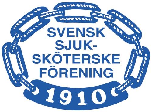 Svensk sjuksköterskeförening logotyp, lågupplöst