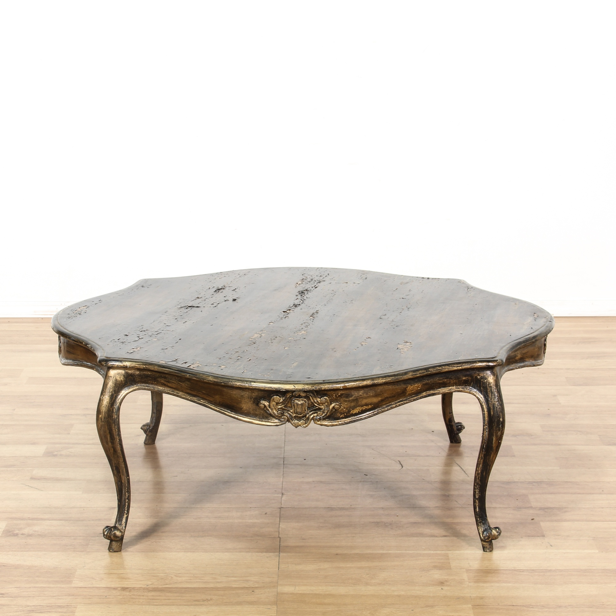 French Country Distressed Coffee Table