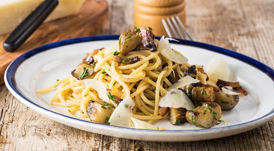 spaghetti-with-artichoke