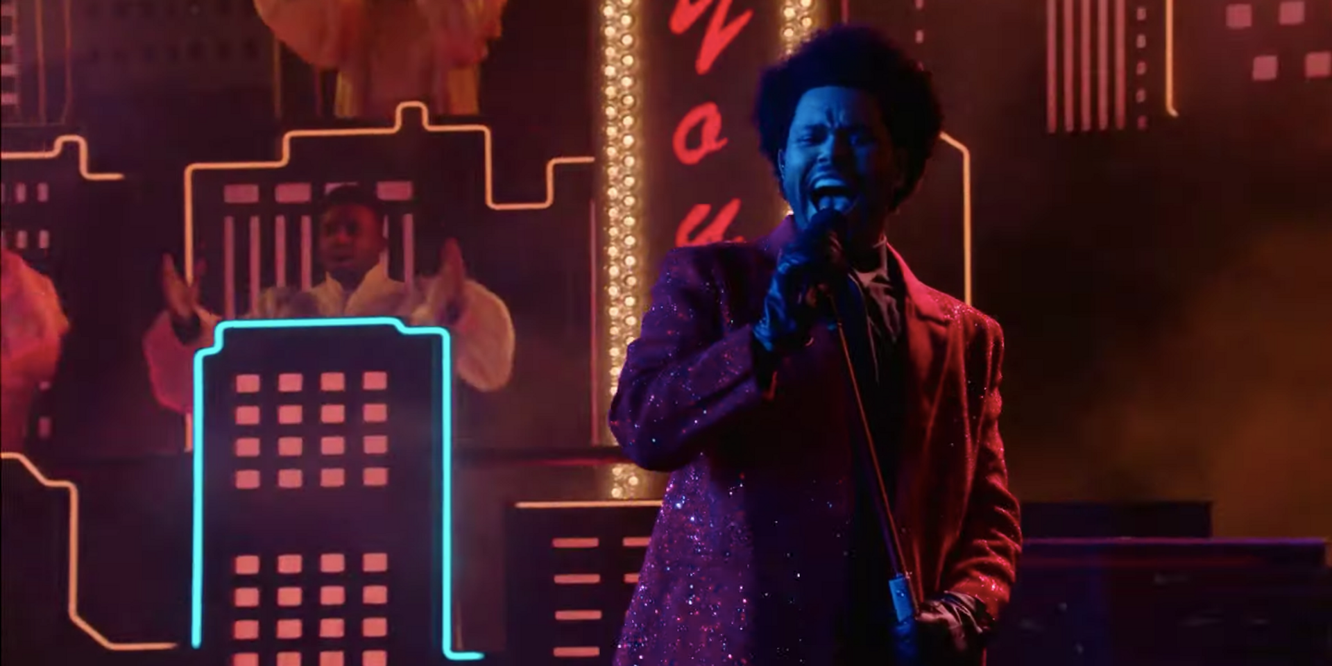 The Weeknd stuns with Super Bowl LV Halftime Show performance – watch