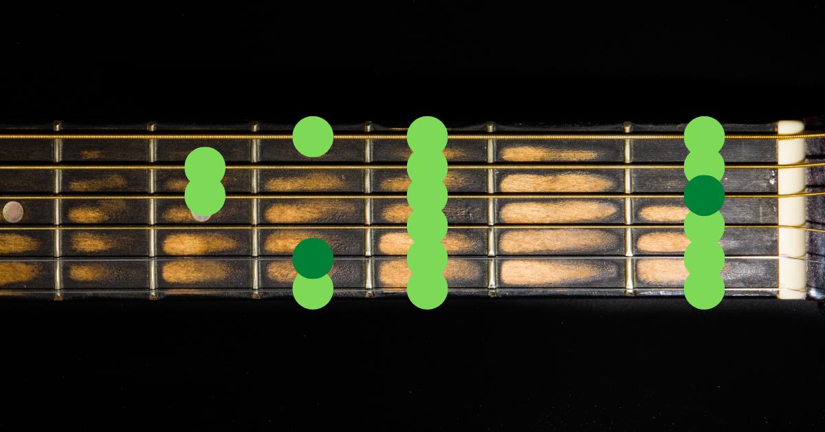 E flat major scale guitar